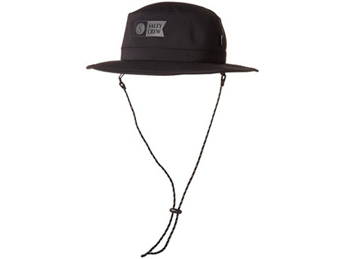 Salty Crew Hat - Indicator Tech Boonie - Black