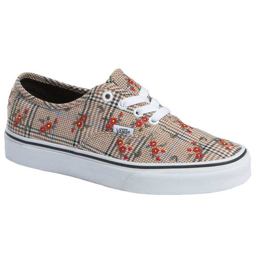 Vans Women's Shoes - Authentic - Embroidery/True White