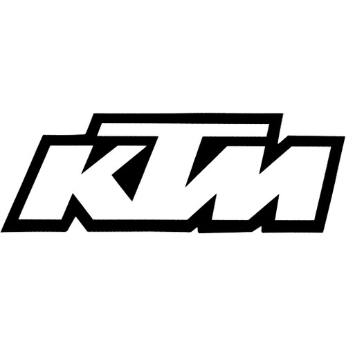 Factory Effex Decals - Ktm Sticker - White