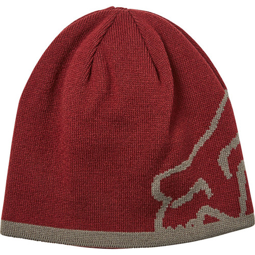 Fox Beanie - Streamliner - Cranberry