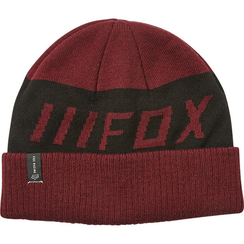 Fox Beanie - Down Shift - Cranberry