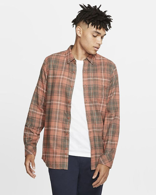 Hurley Flannel - Vedder Washed - Dusty Peach
