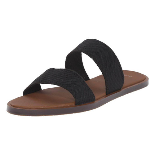 Sanuk Women's Slides - Yoga Gora Gora - Black