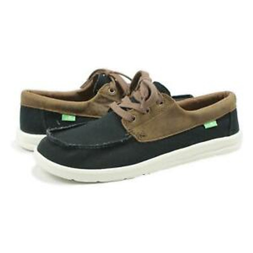 Sanuk Shoes - Skuner Lite LX - Brown