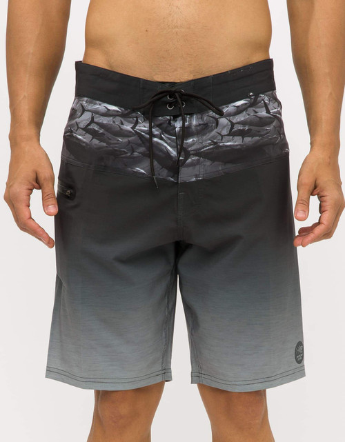 Psycho Tuna Boardshort - Blackfin Dixon - Charcoal