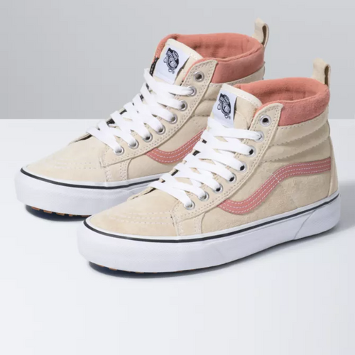 Vans Women's Shoes - Sk8-Hi MTE - Suede/Antique White