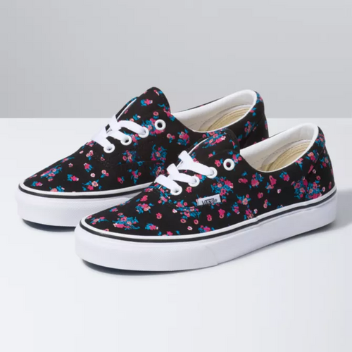 Vans Women's Shoes - Era - Ditsy Floral/Black/White