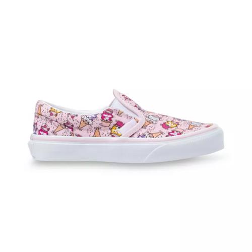 Vans Youth Shoes - Classic Slip-On - Kitty Cake/Bride/True White