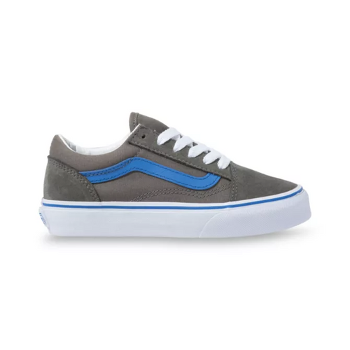 Vans Youth Shoes - Old Skool - Gargoyle/Nebulas Blue