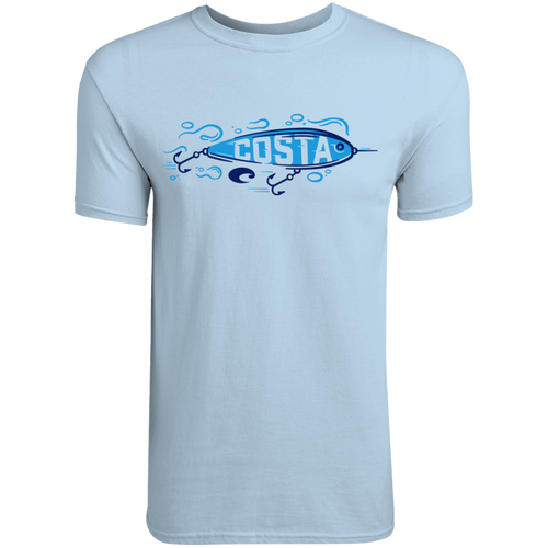 Costa Tee Shirt - Swimmer - Light Blue
