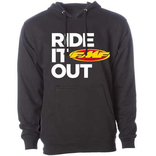 FMF Hoody - Ride It Out - Black