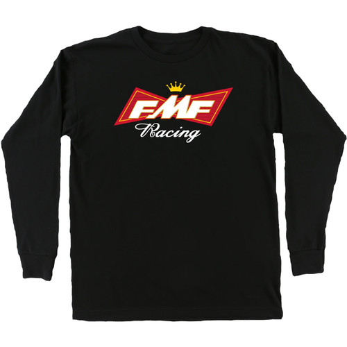 FMF Shirt - King Of Gears LS - Black
