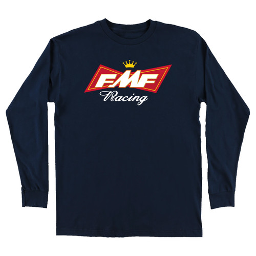 FMF Shirt - King Of Gears LS - Navy