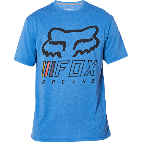 Fox Tee Shirt - Overhaul Tech - Heather Royal