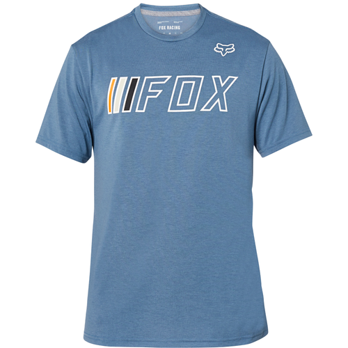 Fox Tee Shirt - Brake Check - Blue Steel