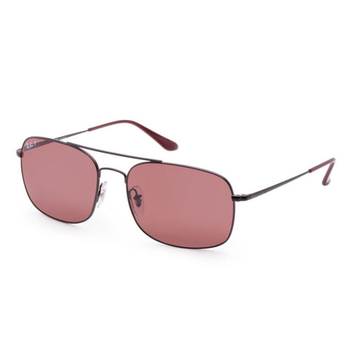 Ray Bans Sunglasses - RB3611 - Matte Brown/Polar Purple