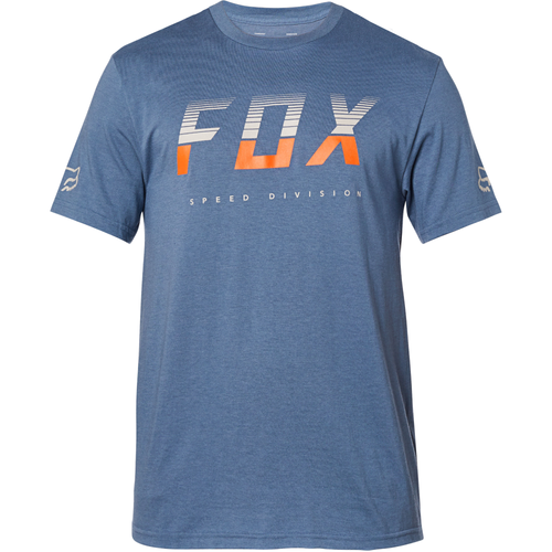 Fox Tee Shirt - End Of The Line - Blue Steel