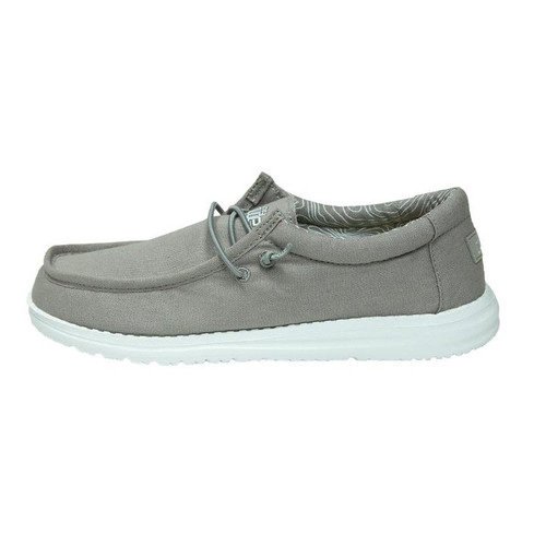 Hey Dude Youth Shoes - Wally - Grey