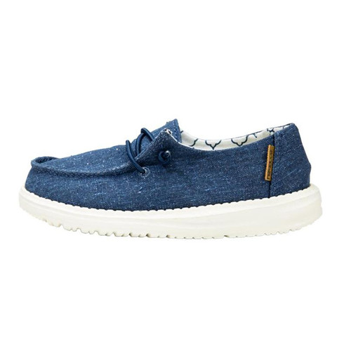 Hey Dude Youth Shoes - Wendy - Denim