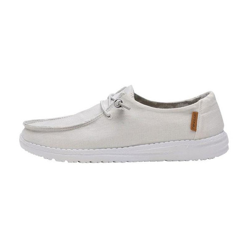 Hey Dude Youth Shoes - Wendy - Chambray White