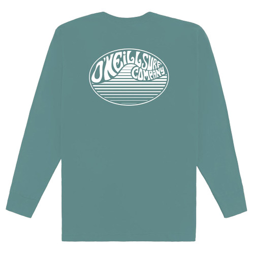 O'Neill Youth Shirt - Demented LS - Ocean
