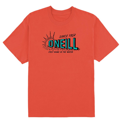 O'Neill Youth Tee Shirt - First Light - Hot Red