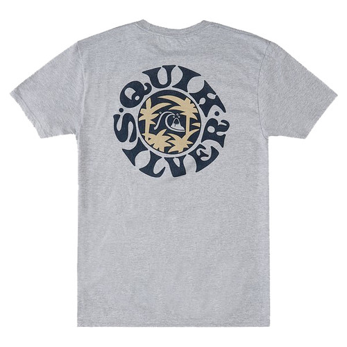 Quiksilver Tee Shirt - Nomad Life - Athletic Heather