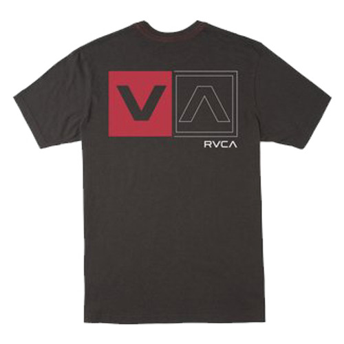 RVCA Tee Shirt - Divided - Pirate Black