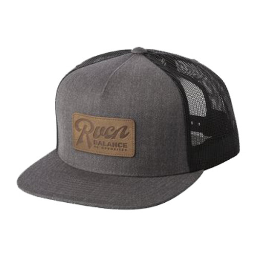 RVCA Hat - Strokes - Charcoal Heather