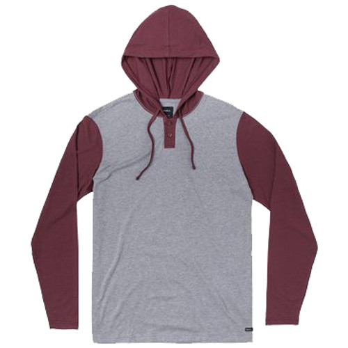 RVCA Hoody - Pick Up II - Oxblood Red