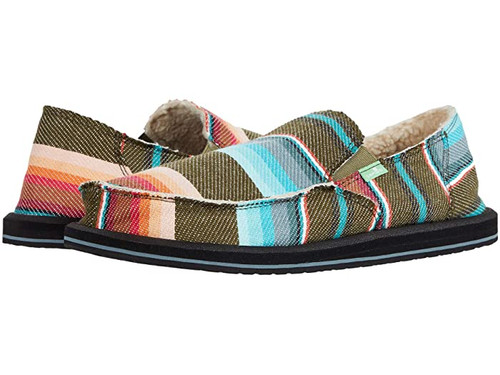 Sanuk Shoes - Donny Chill - Olive Blanket