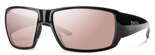 Smith Sunglasses - Guides Choice - Black Frame/Pink Lens