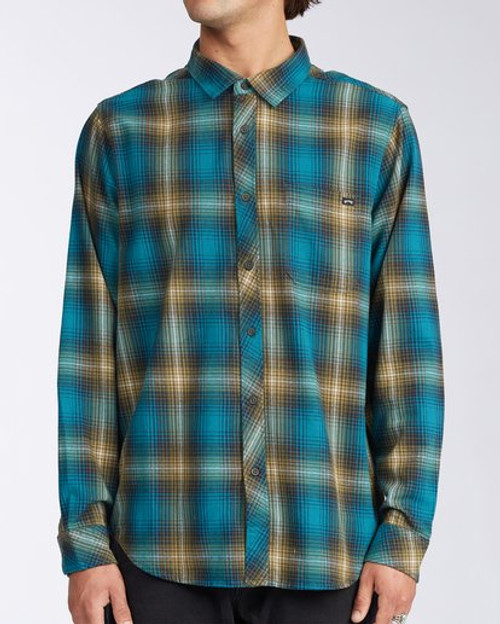 Billabong Woven - Coastline Flannel - Pacific