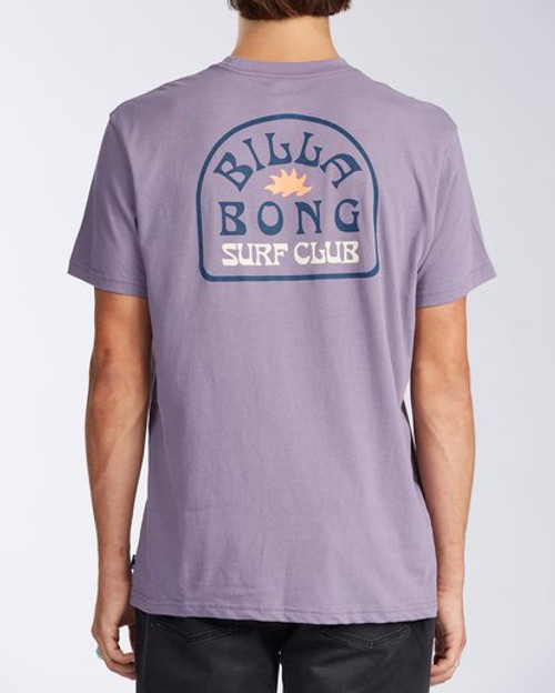 Billabong Tee Shirt - Tanzania - Purple Haze