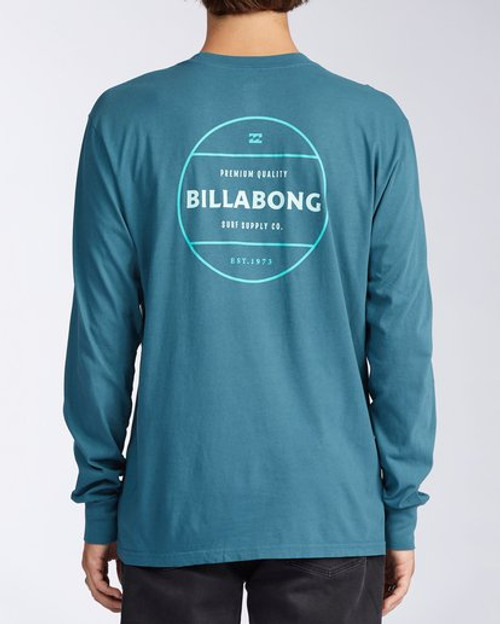 Billabong Tee Shirt - Rotor L/S - Pacific