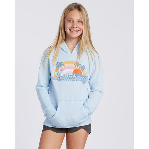 Billabong Girl's Hoody - The Sun Is Coming - Dream Blue