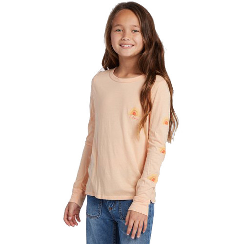 Billabong Girl's Shirt - Sun Kissed LS - Sunstone