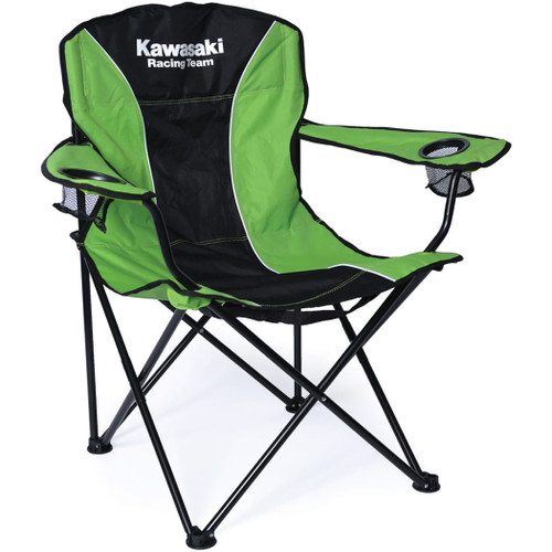 Factory Effex Chair - Kawasaki Fold-Out Chair - Black/Green