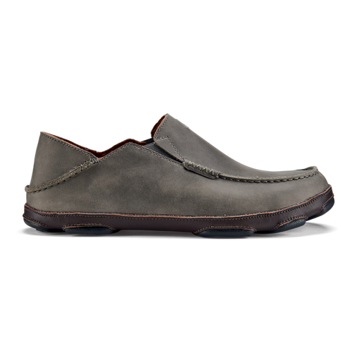 Olukai Shoes - Moloa - Ash/Dark Wood