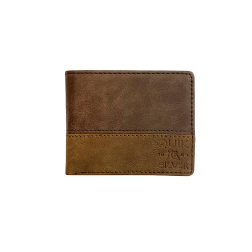 Quiksilver Wallet - Country Breeze - Chocolate Brown