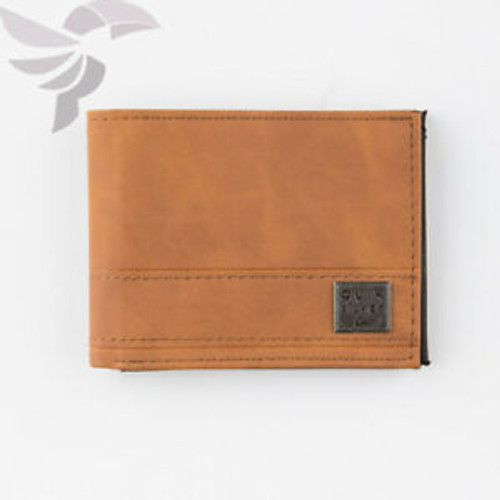 Quiksilver Wallet - Garden Delight - Chocolate Brown