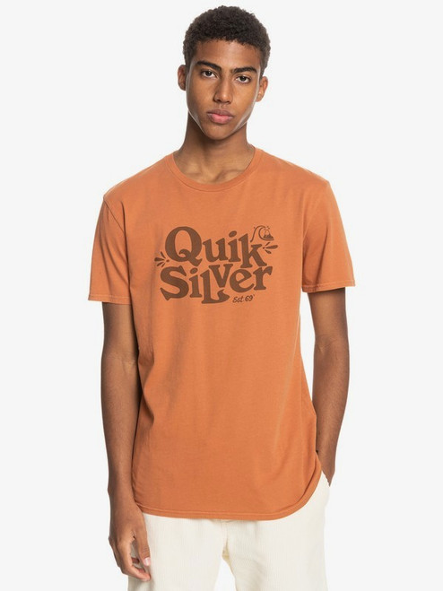 Quiksilver Tee Shirt - Tall Heights - Adobe