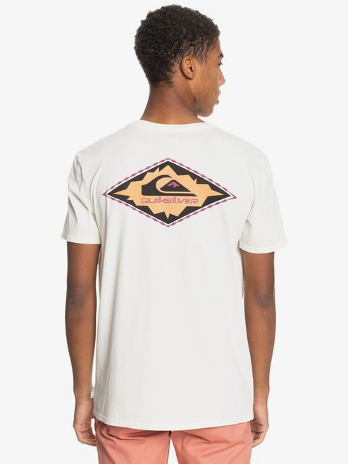 Quiksilver Tee Shirt - Yard Rock - Snow White