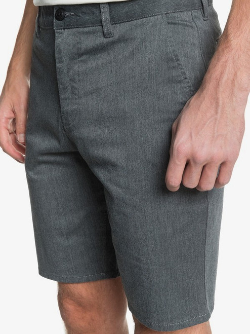 Quiksilver Shorts - Union Stretch - Dark Grey Heather