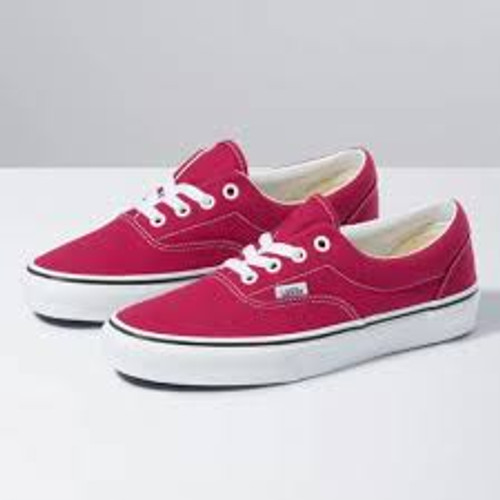 Vans Shoes - Era - Cerise/True White