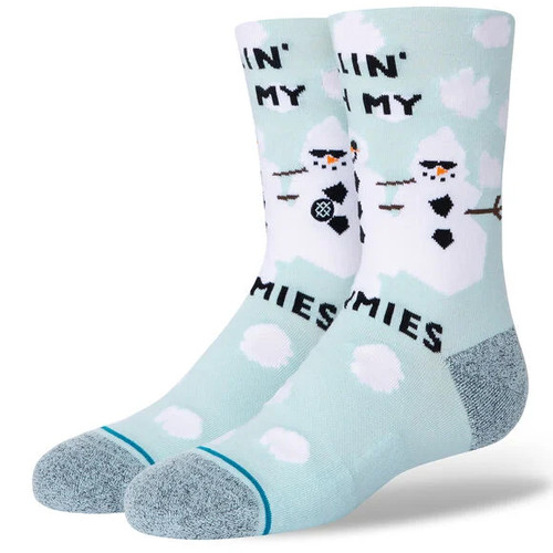 Stance Kid's - With My Snowmies - Light Blue