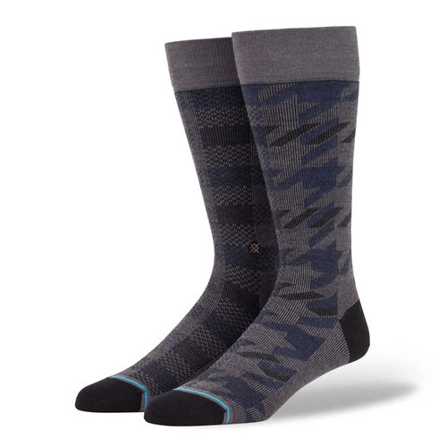 Stance - Plaid Out - Charcoal