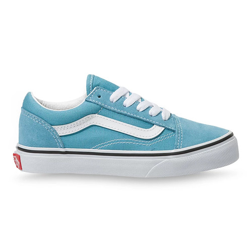 Vans Youth Shoe - Old Skool - Delphinium Blue/True White