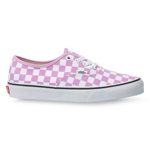 Vans Women's Shoes - Authentic - Checkerboard Orchid/True White