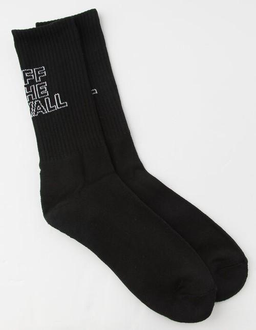 Vans Socks - Vans Dimensions Crew - Black